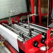 flat type non woven bag making machine