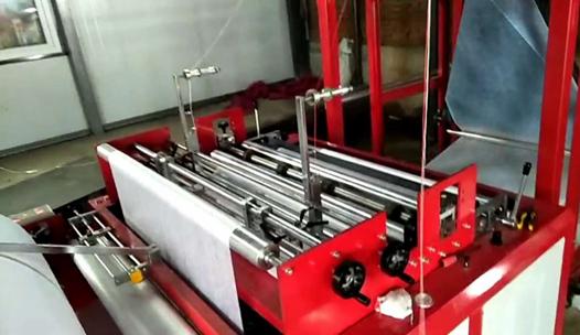 flat type non woven bag making machine