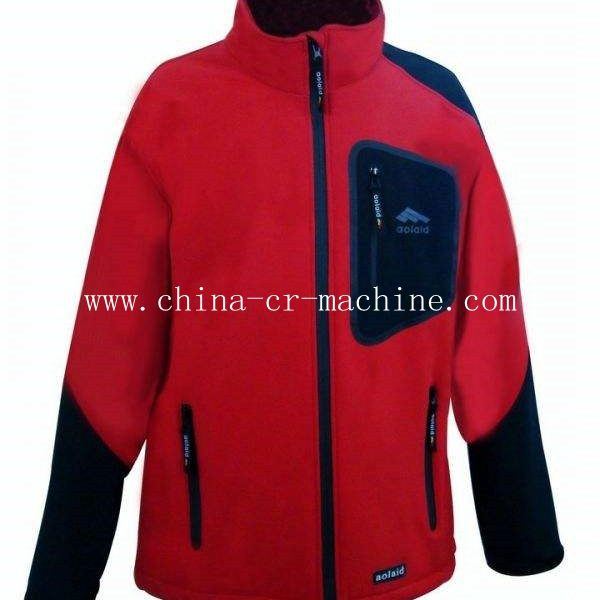 35KHZ ultrasonic seamless machine for outdoor coat